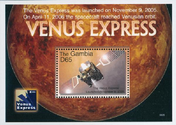 2006 Gambia Venus Express s/s