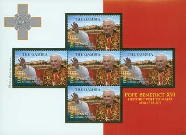 2010 Gambia Pope Benedict Visits Malta