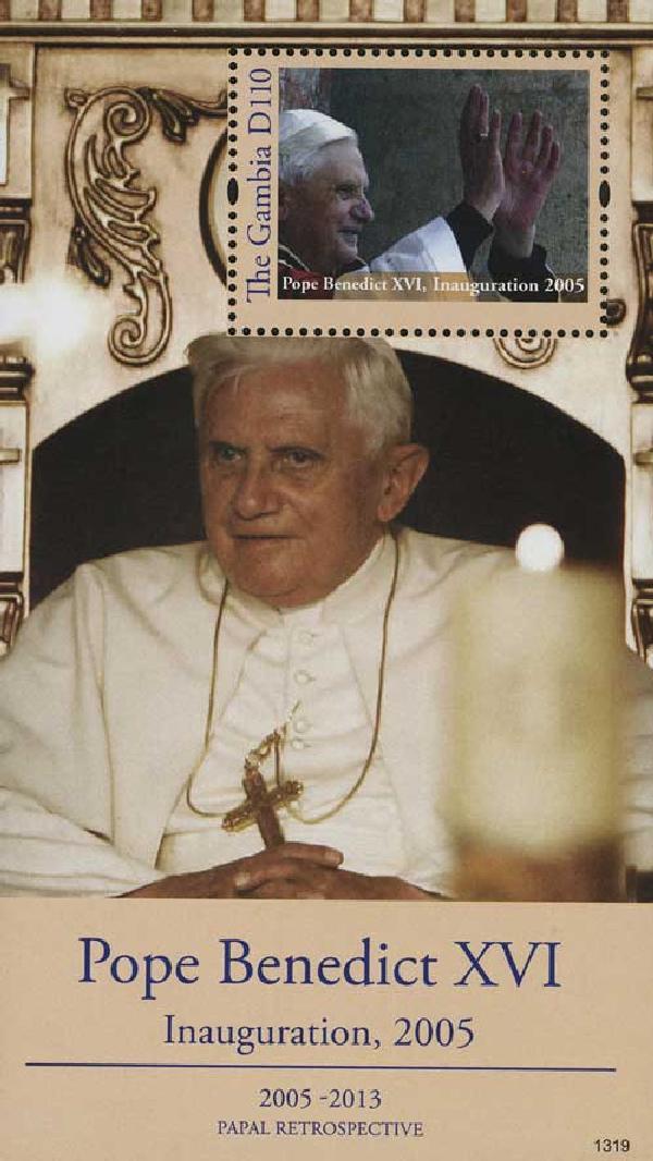 2013 Gambia Pope Benedict Inauguration