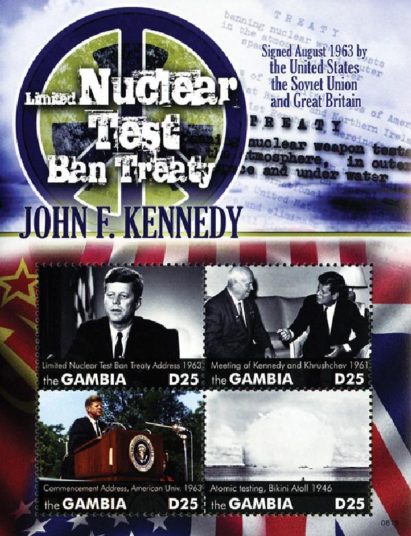 2008 Gambia Nuclear Test Ban/JFK