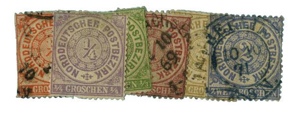 1869 Ger. St.-N. Ger. Confederation