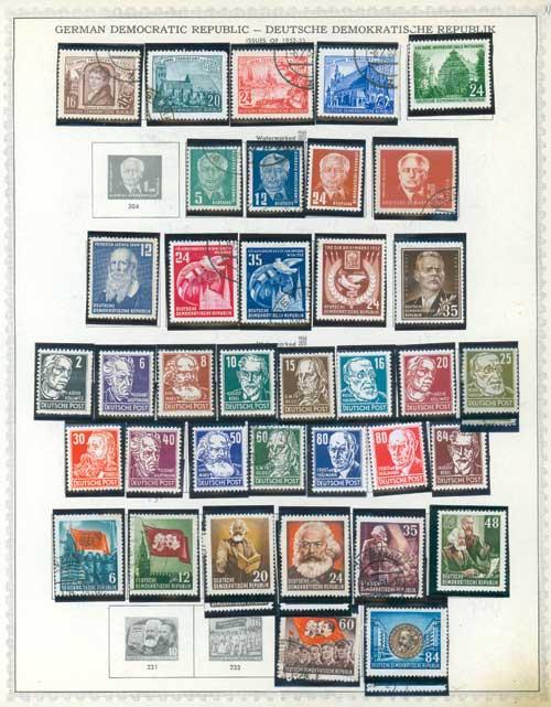1950-90 German Democratic Republic