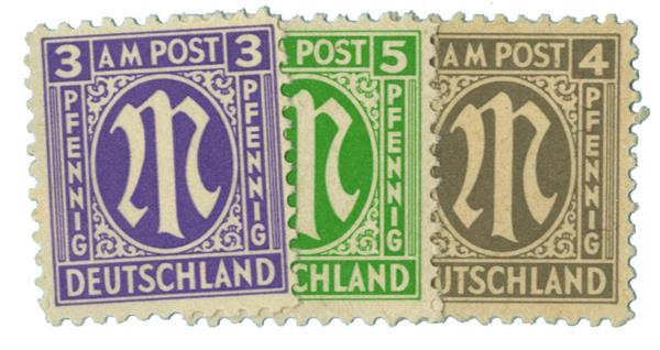 1945-46 German Occupations