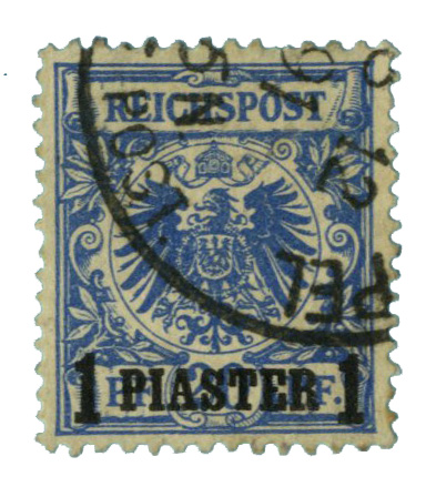 1889 German Off. - Turkish Empire