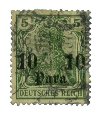 1900 German Off. - Turkish Empire