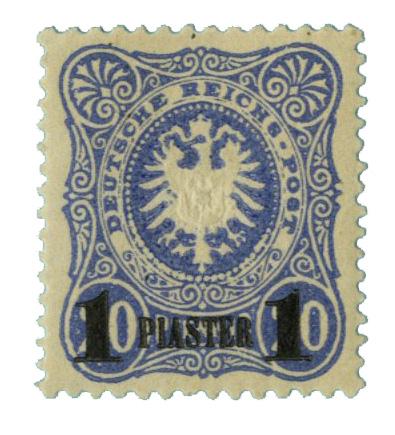 1884 German Off. - Turkish Empire