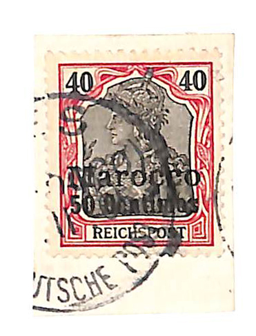 1900 German Offices in Morocco