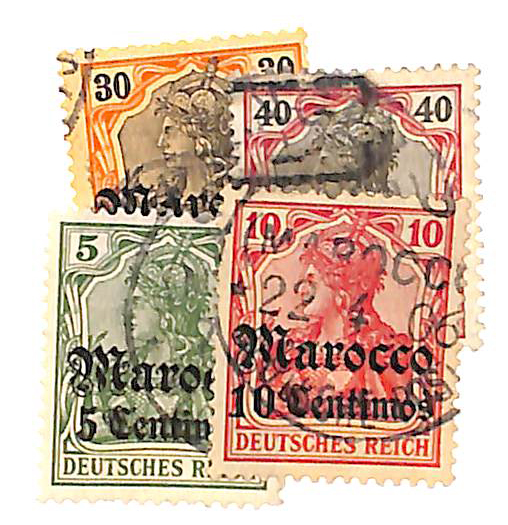 1905 German Offices in Morocco