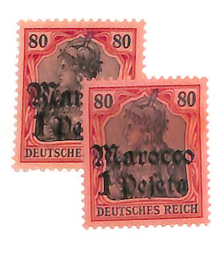 1905-11 German Offices in Morocco