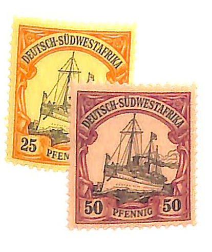 1901 German South West Africa