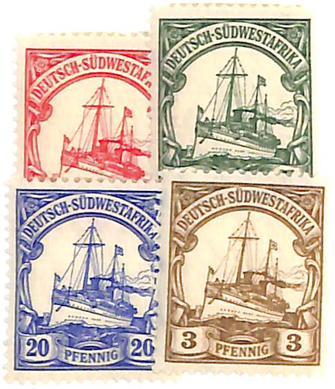 1906-11 German South West Africa
