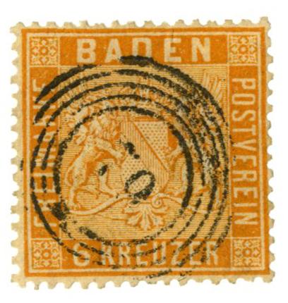 1861 German States-Baden