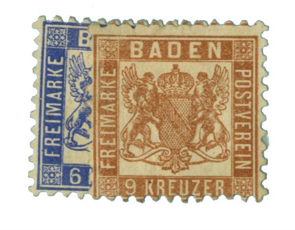 1864-65 German States-Baden