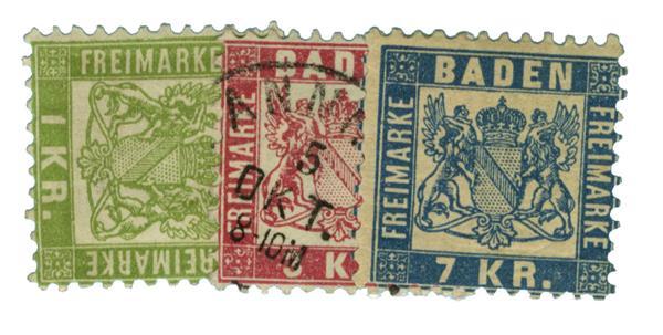 1868 German States-Baden