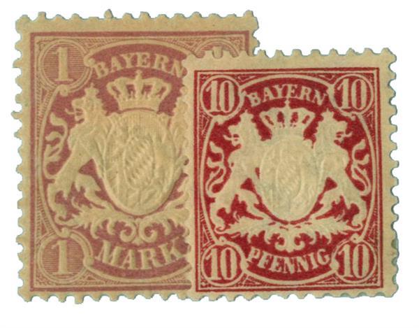 1881-1900 German States-Bavaria