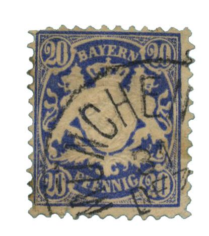 1881 German States-Bavaria