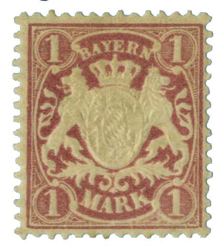1900 German States-Bavaria