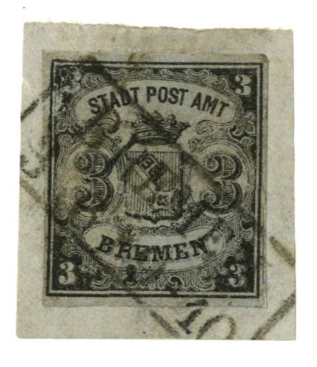 1855 German States-Bremen