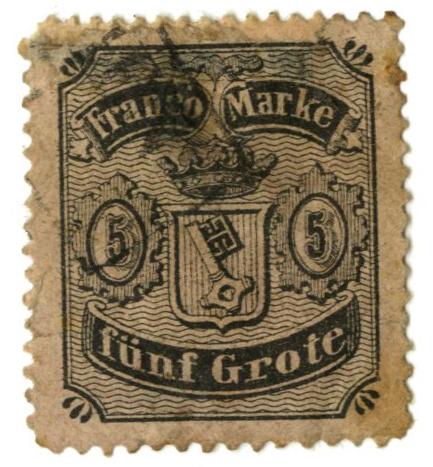 1866 German States-Bremen