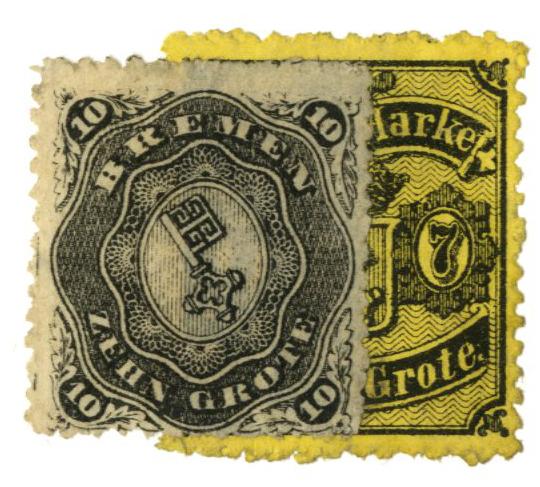 1866-67 German States-Bremen