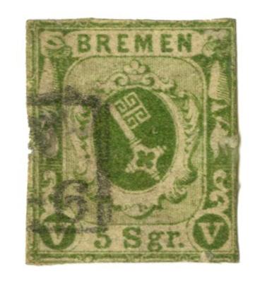 1859 German States-Bremen