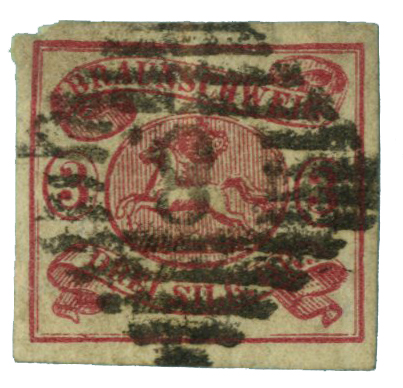 1862 German States-Brunswick