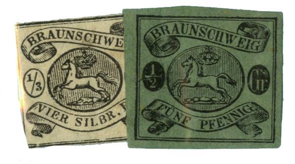 1856-63 German States-Brunswick