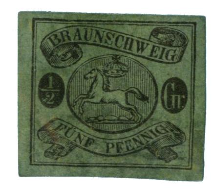 1863 German States-Brunswick