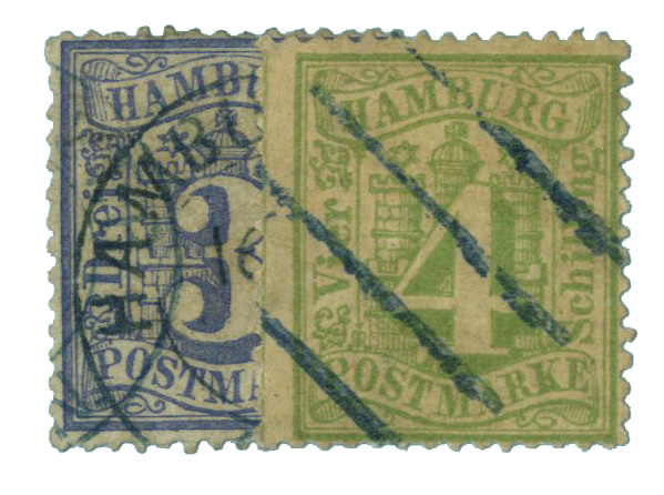 1859 German States-Hamburg