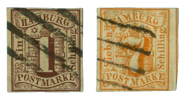 1859 German States-Hamburg