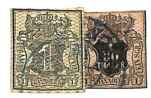1856 German States-Hanover