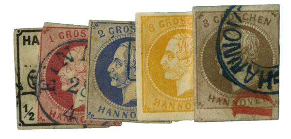 1859-61 German States-Hanover