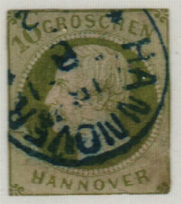 1861 German States-Hanover
