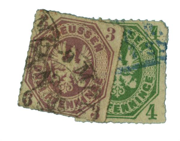 1861-67 German States-Prussia