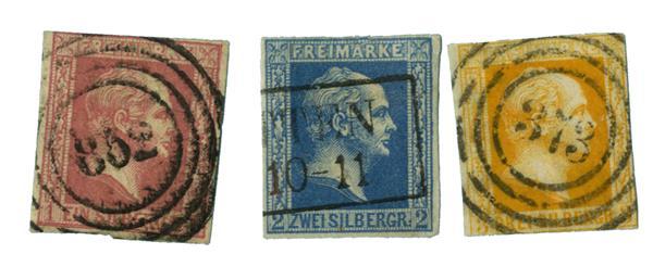1857 German States-Prussia