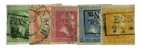 1858-60 German States-Prussia