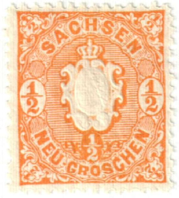 1863 German States-Saxony