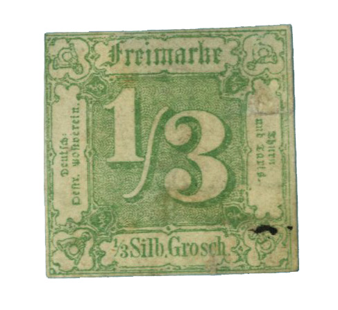 1863 German States-Thurn & Taxis