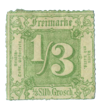 1865 German States-Thurn & Taxis