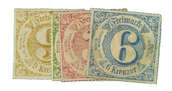 1866 German States-Thurn & Taxis