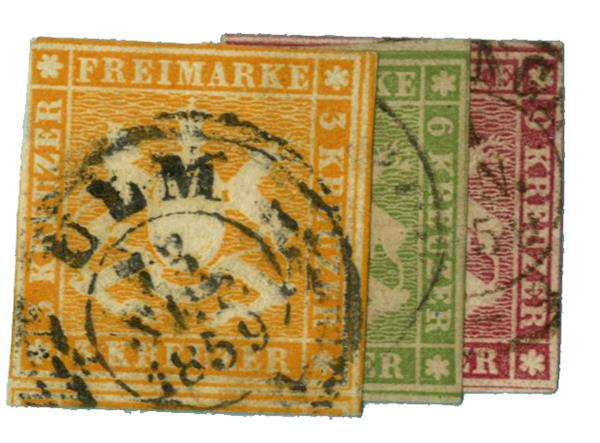 1859 German States-Wurttemburg