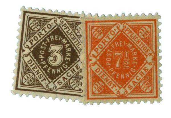 1906-16 German States-Wurttemburg