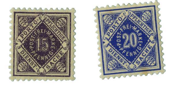 1911-17 German States-Wurttemburg