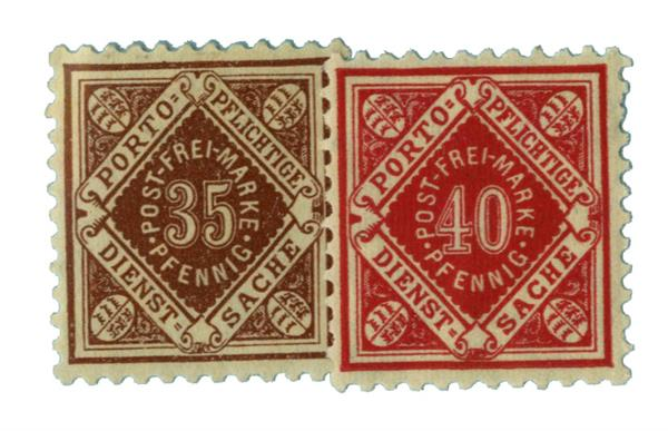 1919-21 German States-Wurttemburg