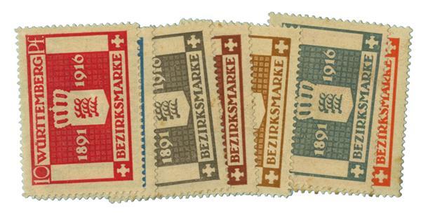 1916 German States-Wurttemburg
