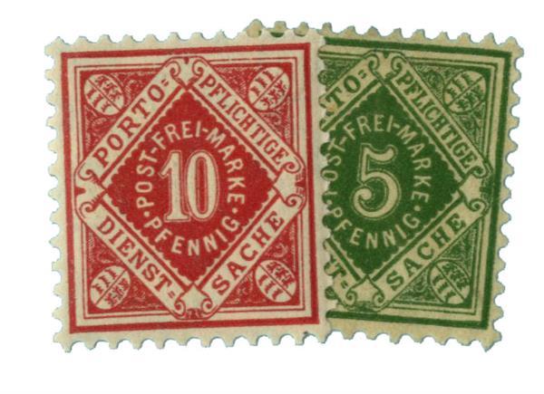 1875-1900 German States-Wurttemburg