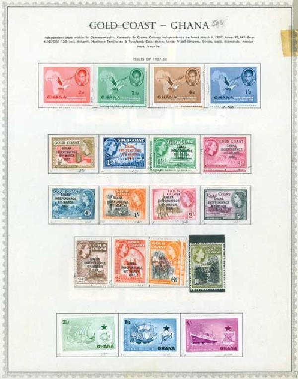1957-81 Ghana