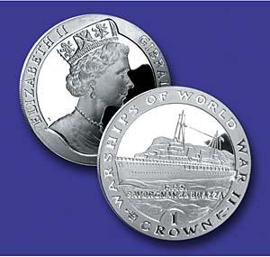 1993 VAS Savorgnan de Brazza Silver Coin