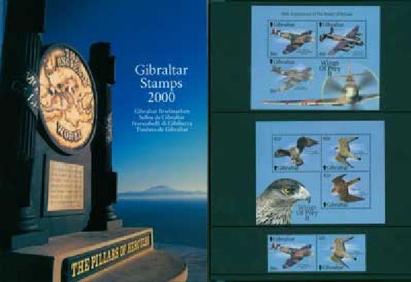 2000 Gibraltar Year Set,68vM