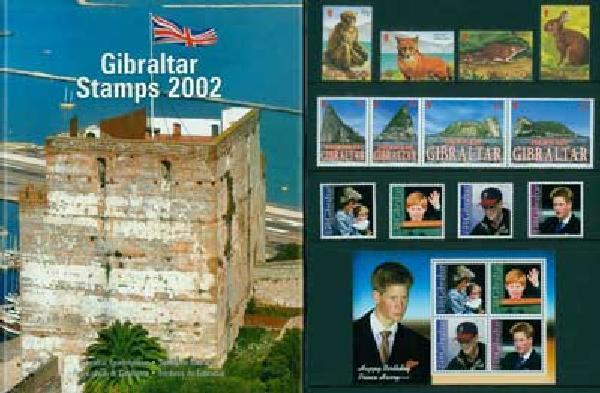 2002 Gibraltar Year Set,56vM